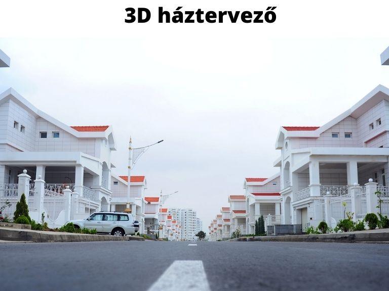 3D háztervező