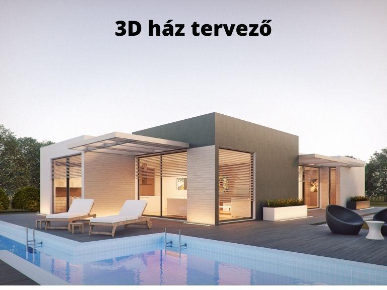 3D ház tervező