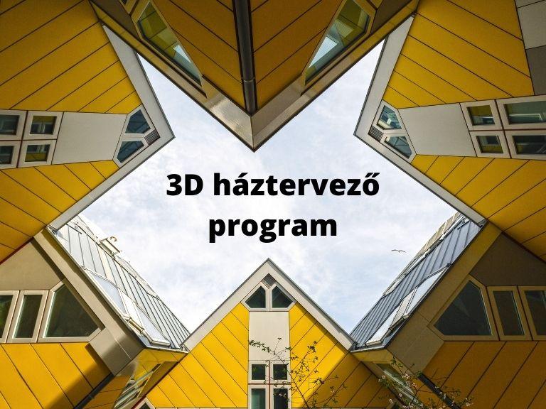 3d háztervező program
