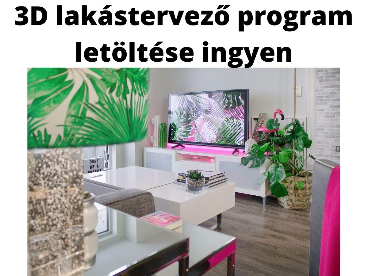 3d lakástervező program letöltése ingyen