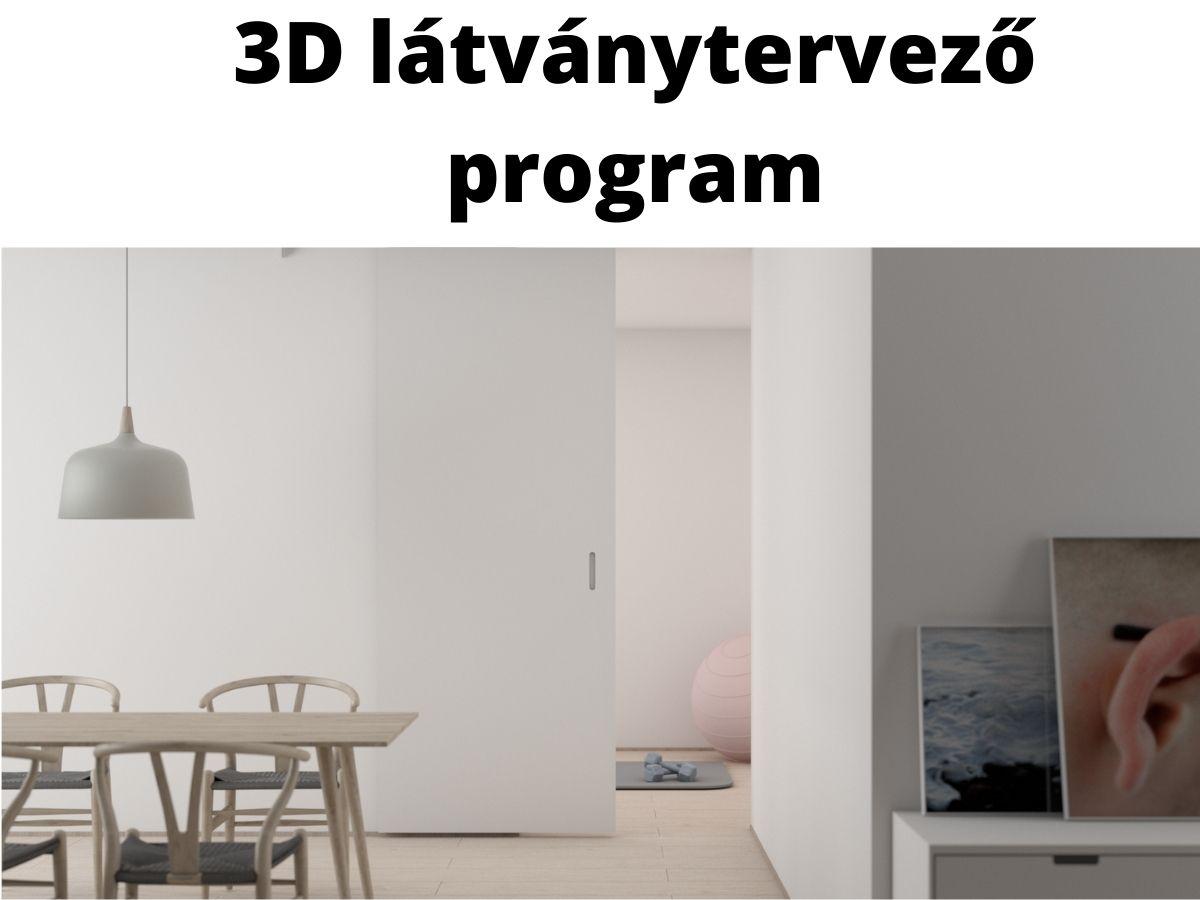 3d látványtervező program