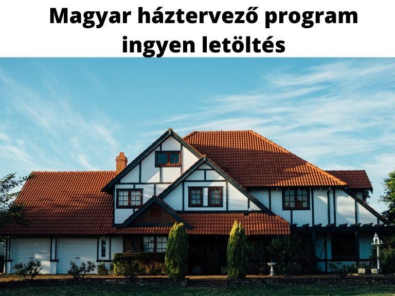 Magyar háztervező program ingyen letöltés