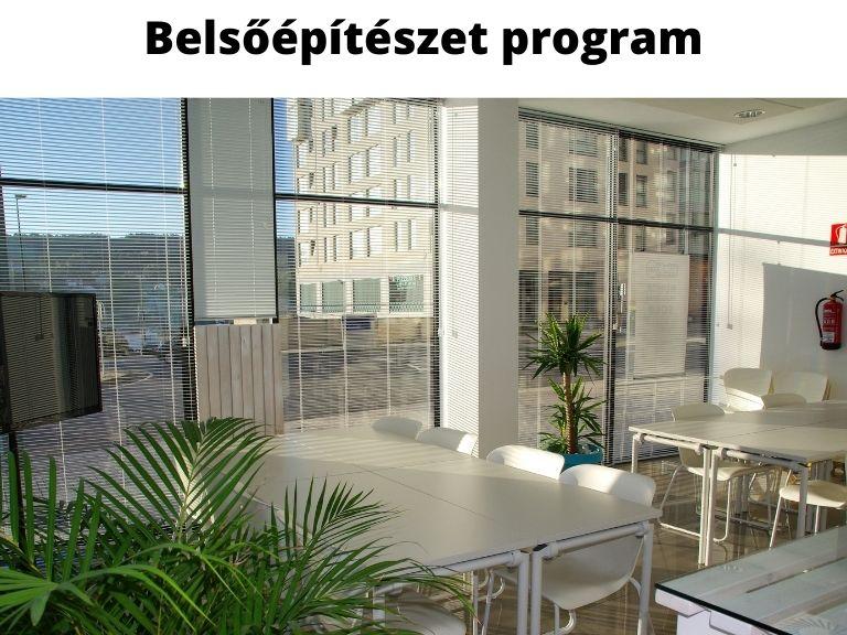 belsőépítészet program