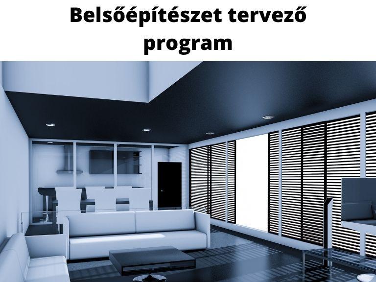 belsőépítészet tervező program