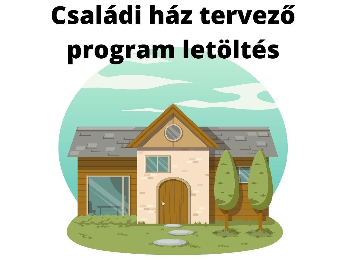családi ház tervező program letöltés