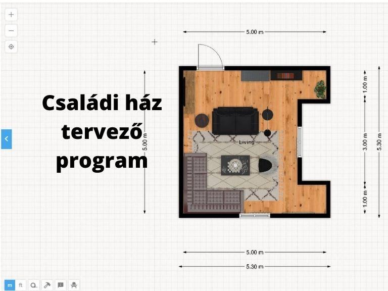 családi ház tervező program