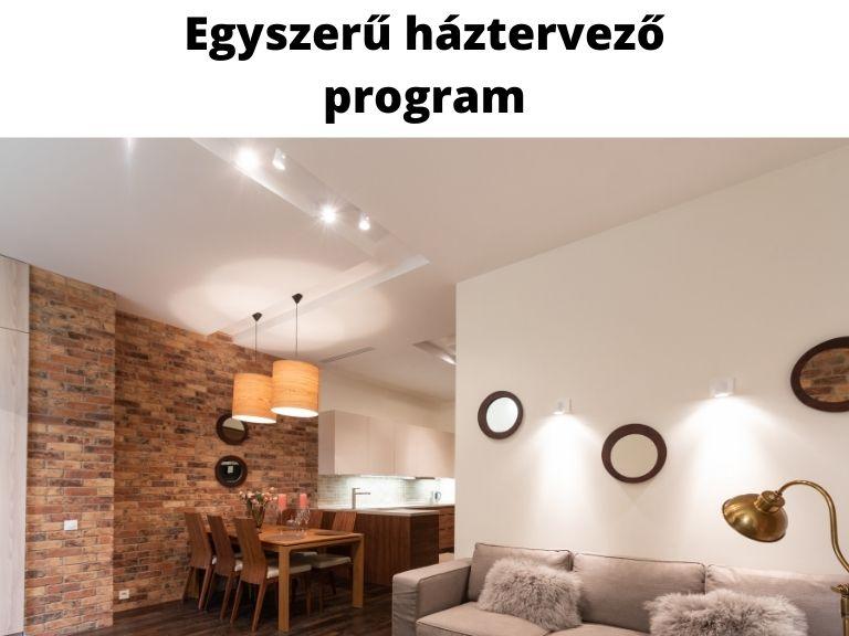 egyszerű háztervező program