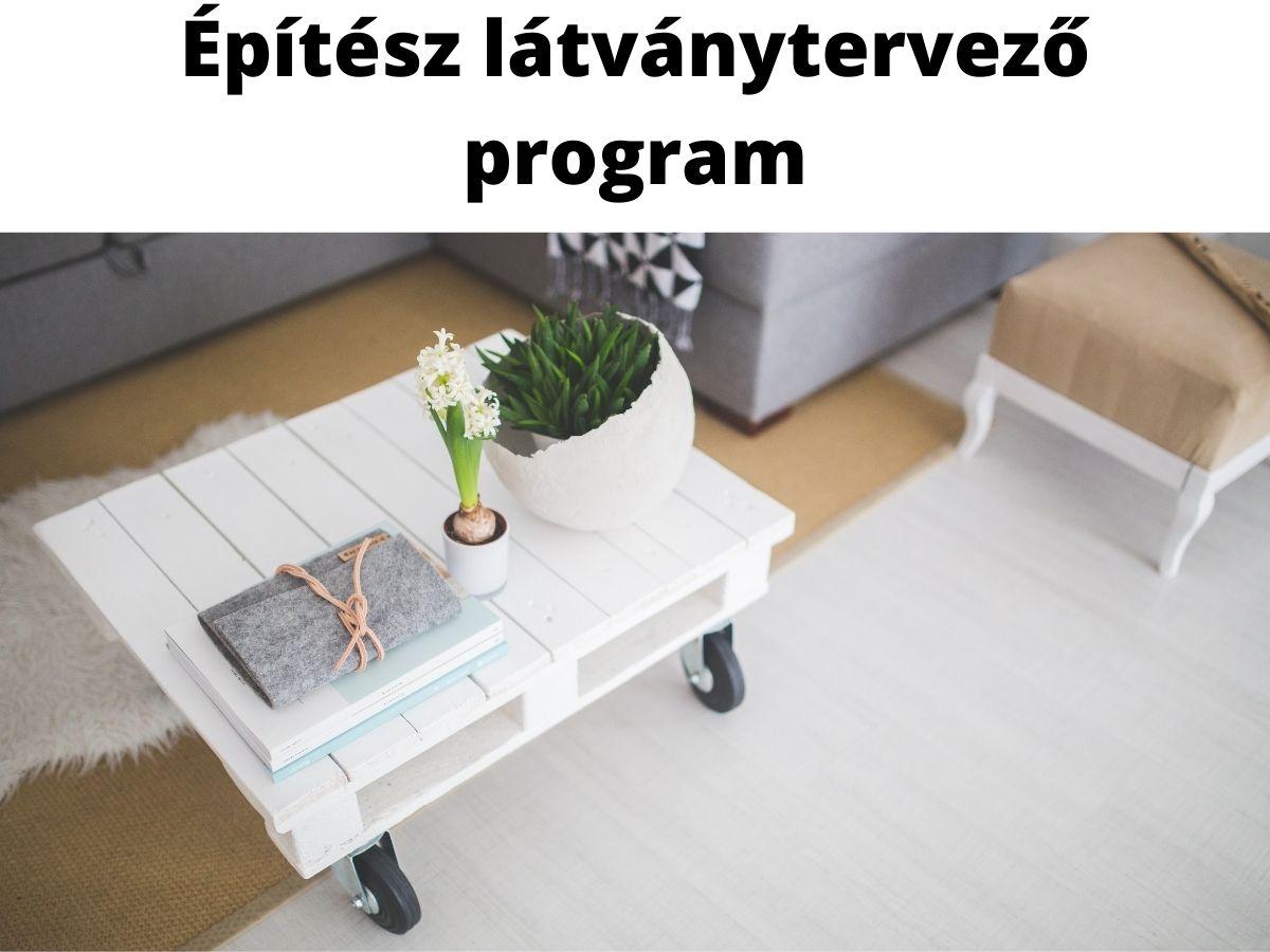 építész látványtervező program