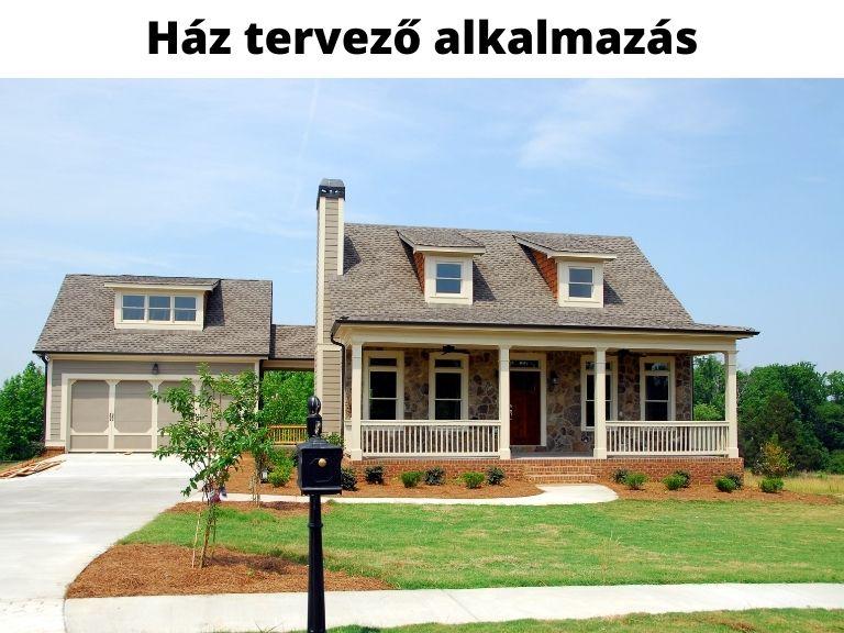 ház tervező alkalmazás