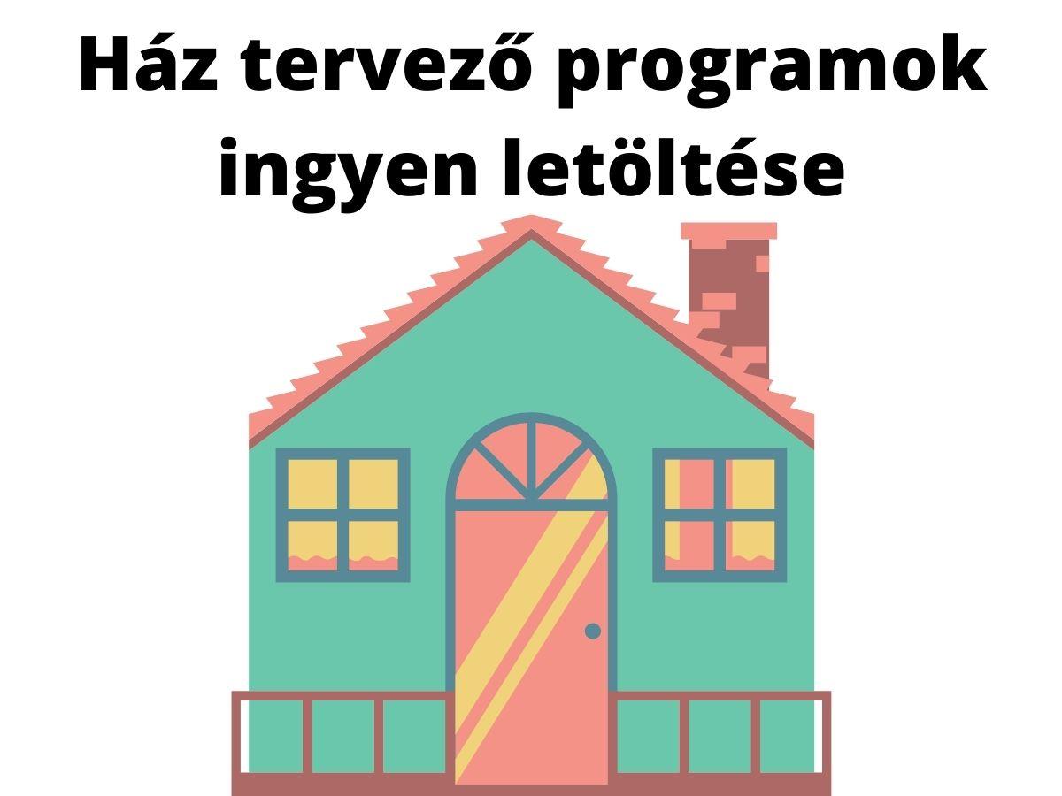 ház tervező programok ingyen letöltése