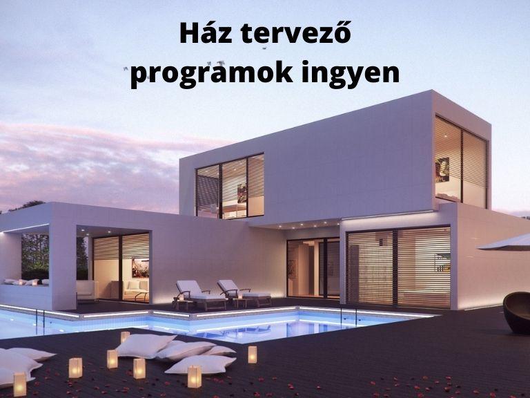 ház tervező programok ingyen