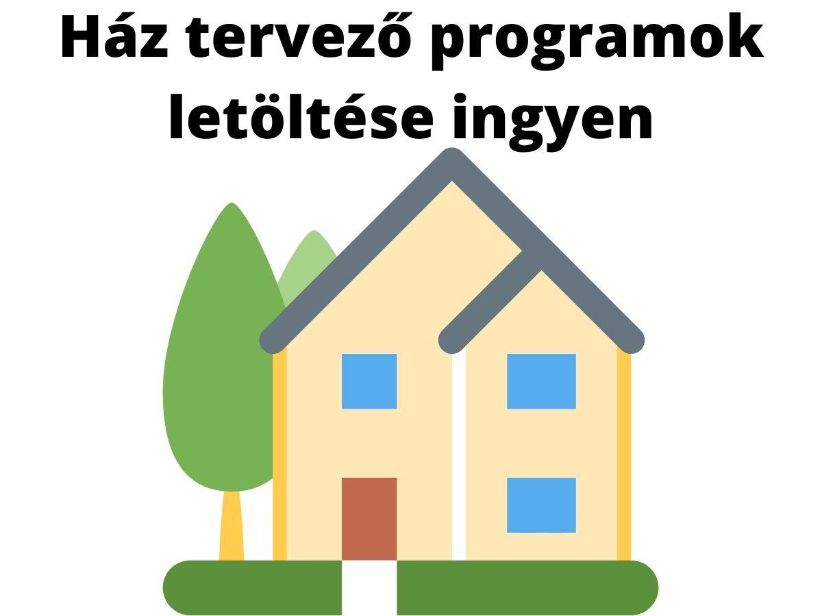 Ház tervező programok letöltése ingyen