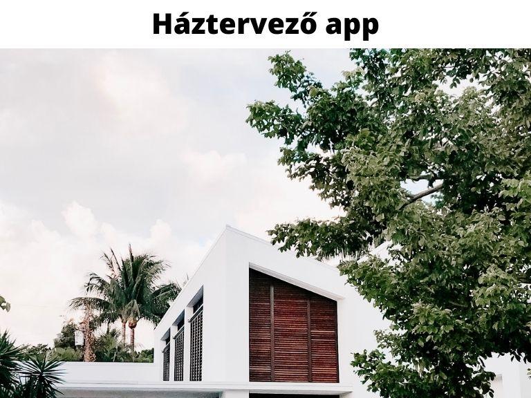 háztervező app