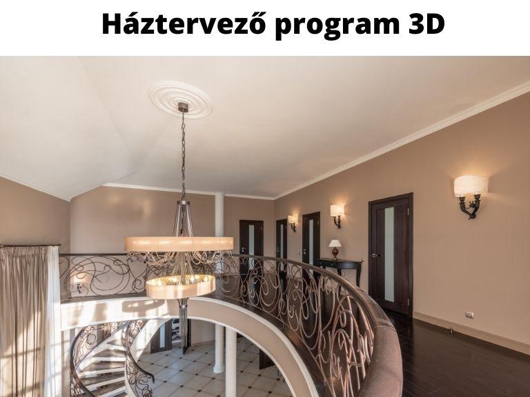 háztervező program 3D