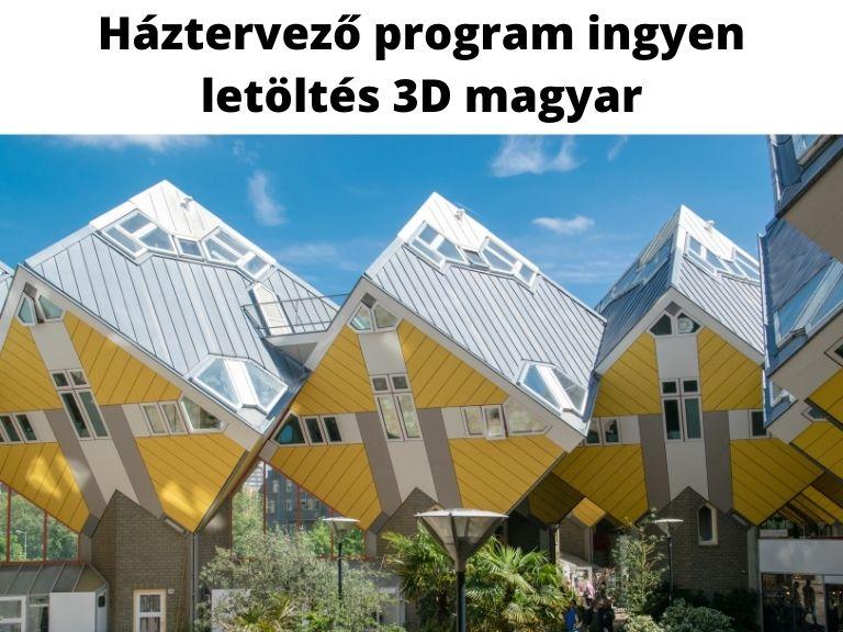 háztervező program ingyen letöltés 3d magyar