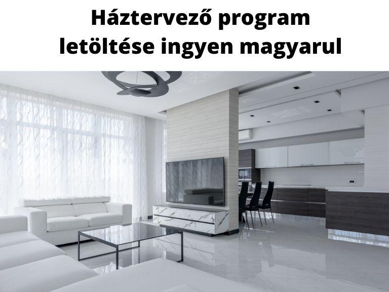 háztervező program letöltése ingyen magyarul