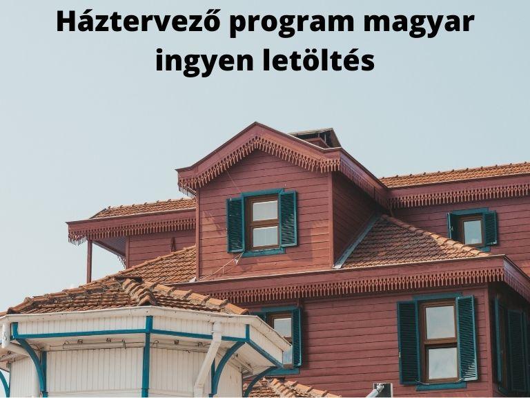 háztervező program magyar ingyen letöltés