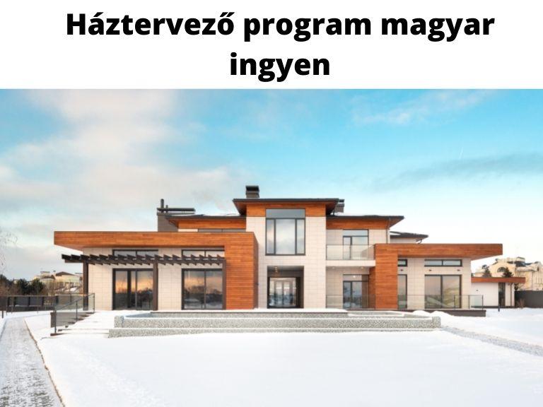 háztervező program magyar ingyen