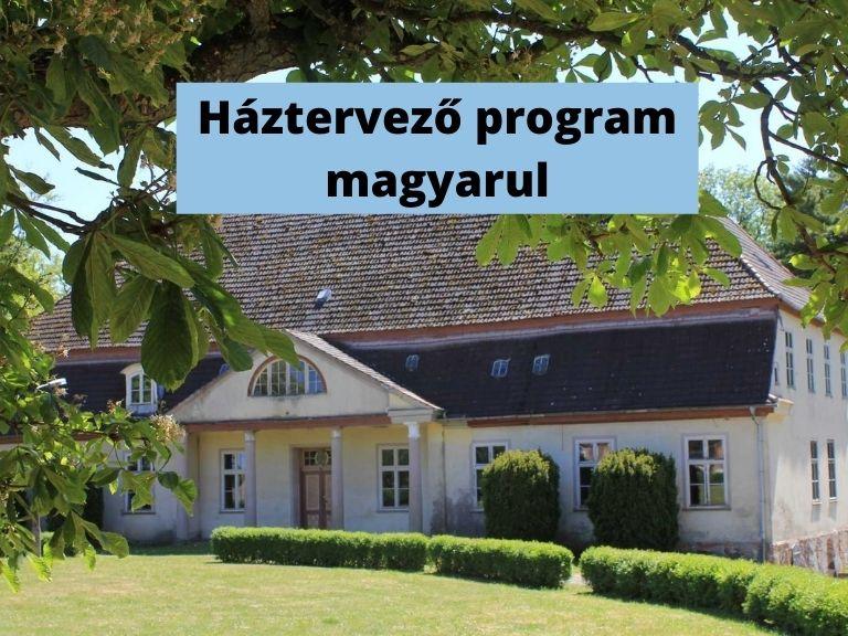 háztervező program magyarul