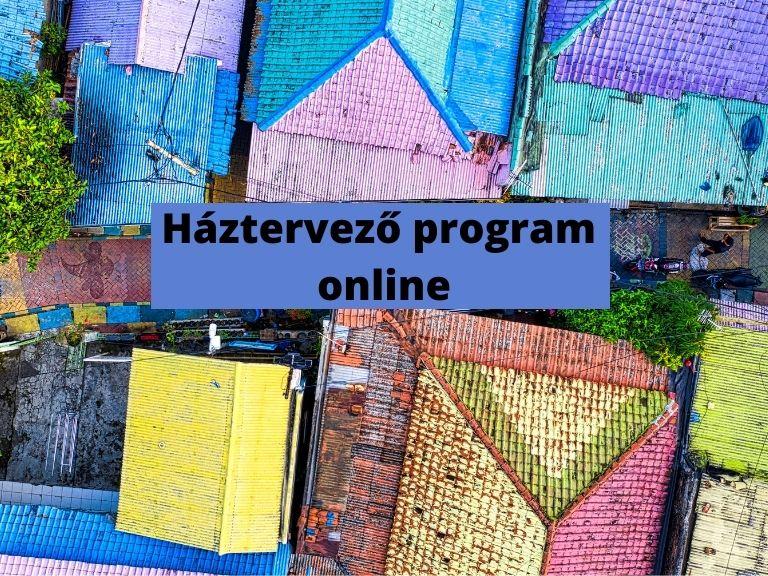 háztervező program online