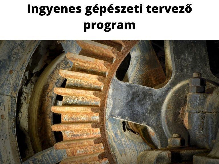 ingyenes gépészeti tervező program