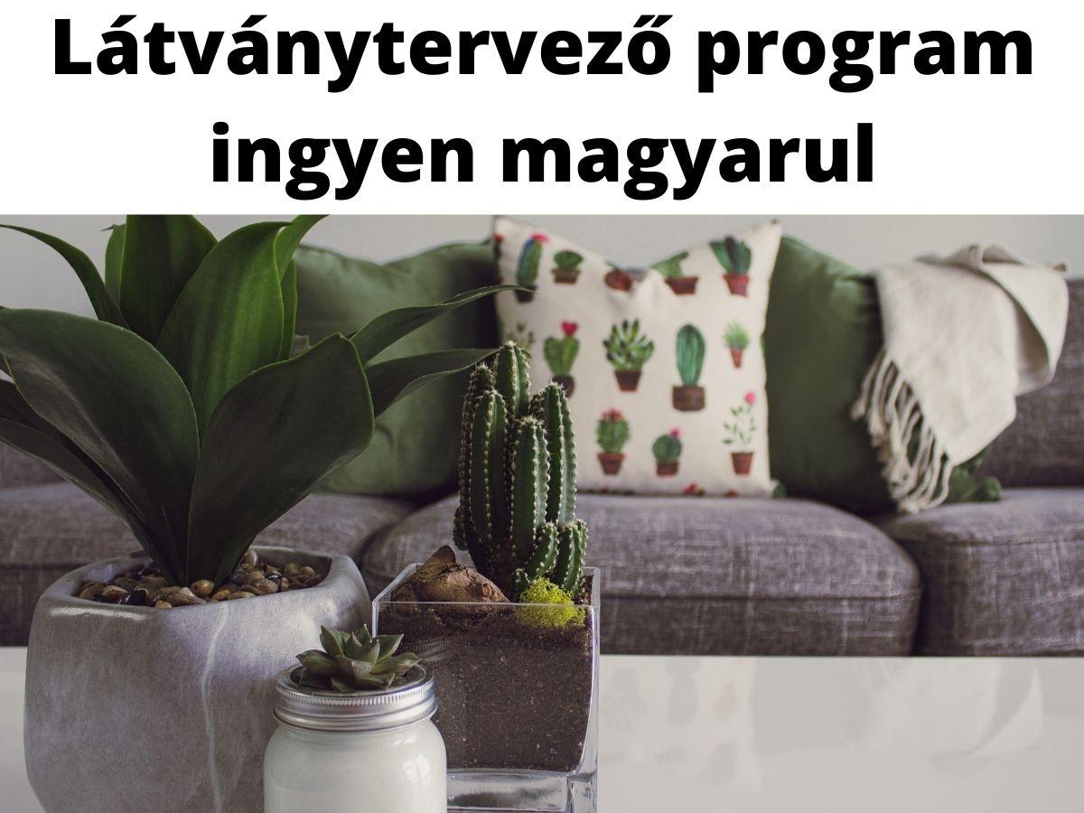 látványtervező program ingyen magyarul
