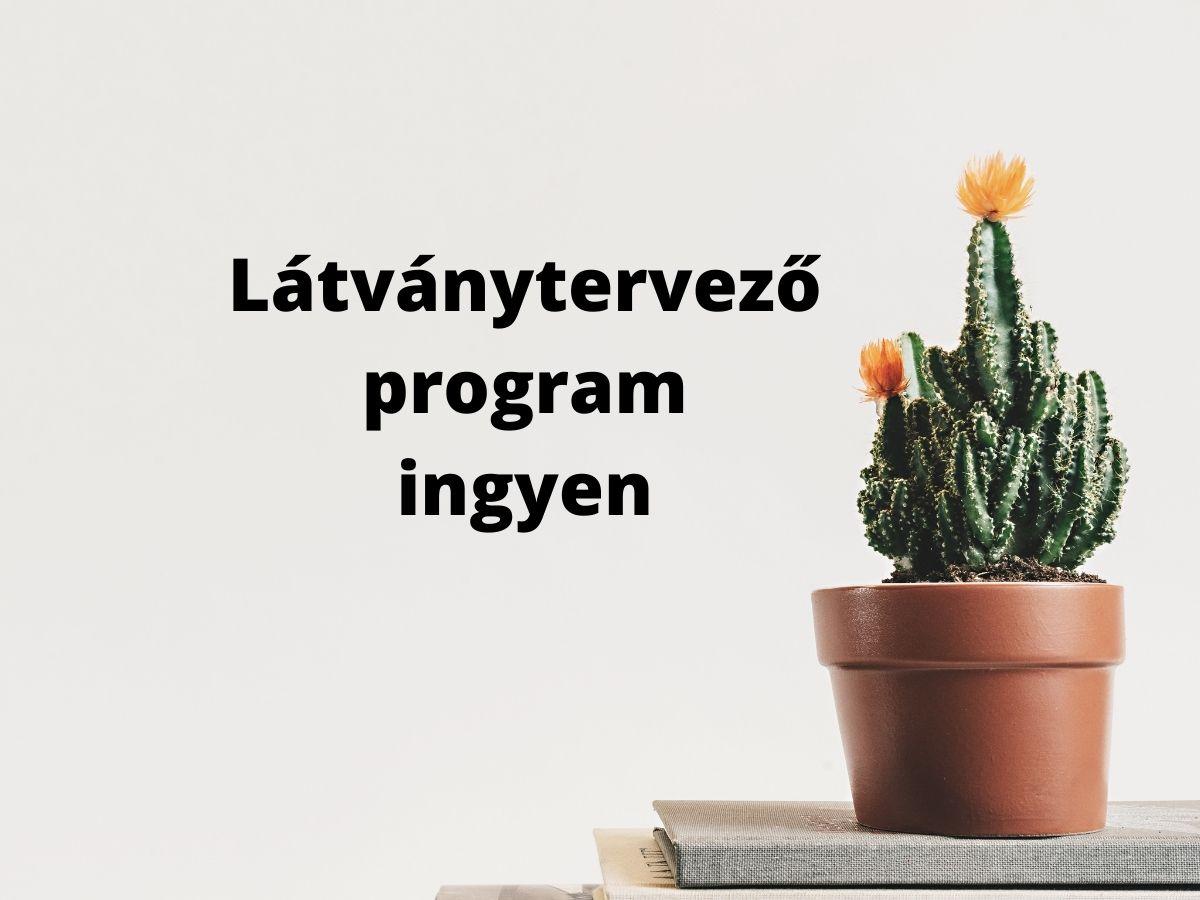 látványtervező program ingyen