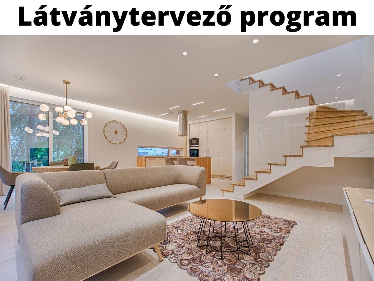 látványtervező program