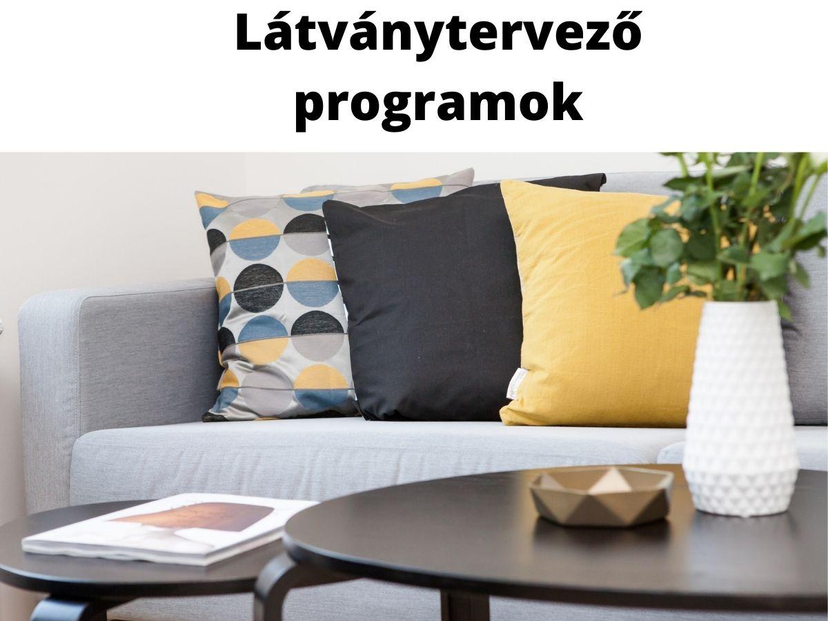 látványtervező programok