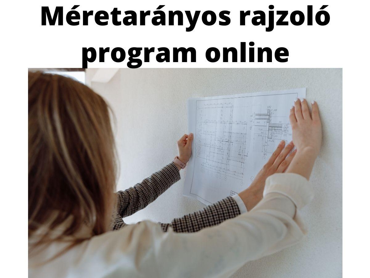 Méretarányos rajzoló program online
