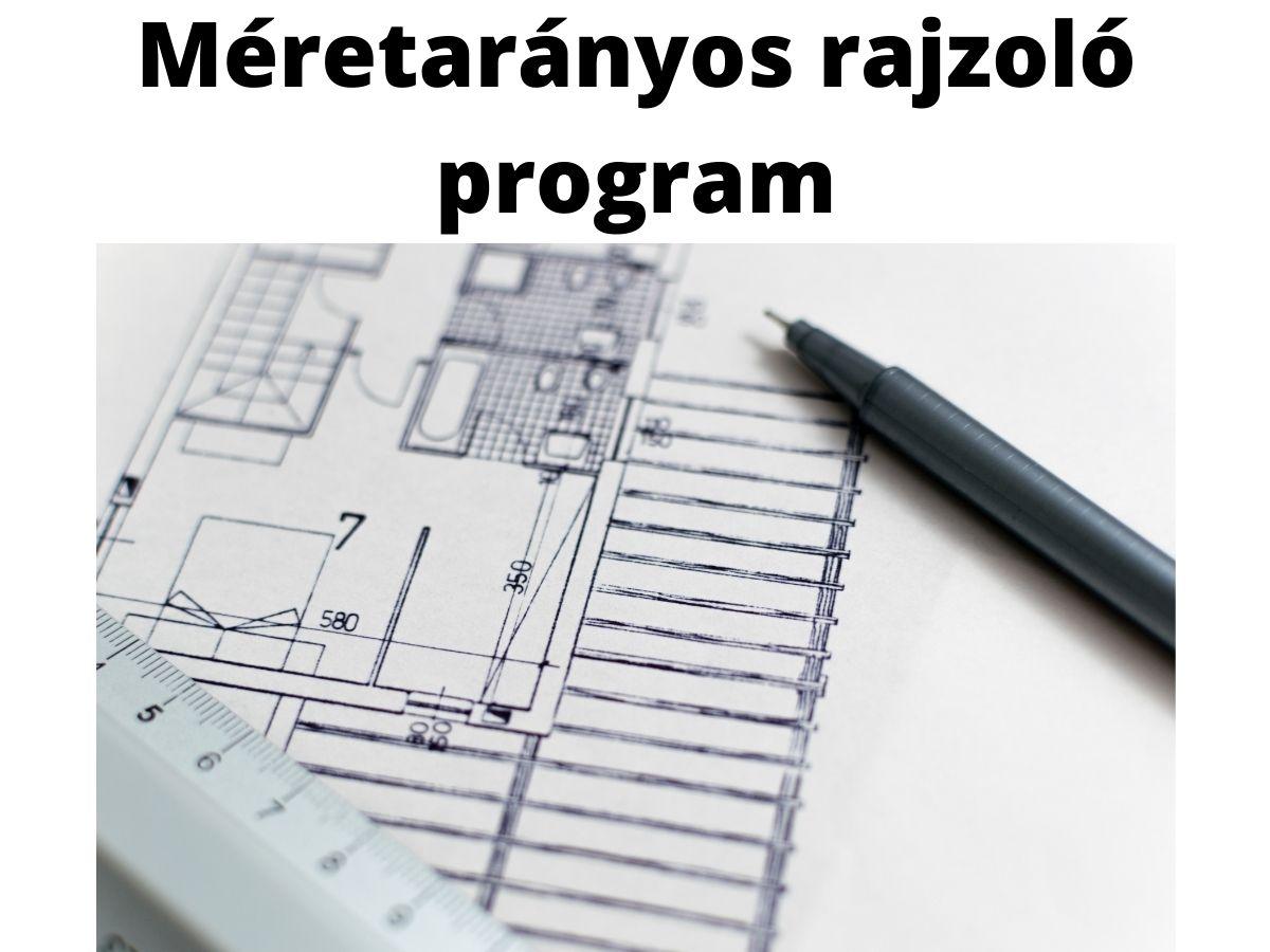 méretarányos rajzoló program