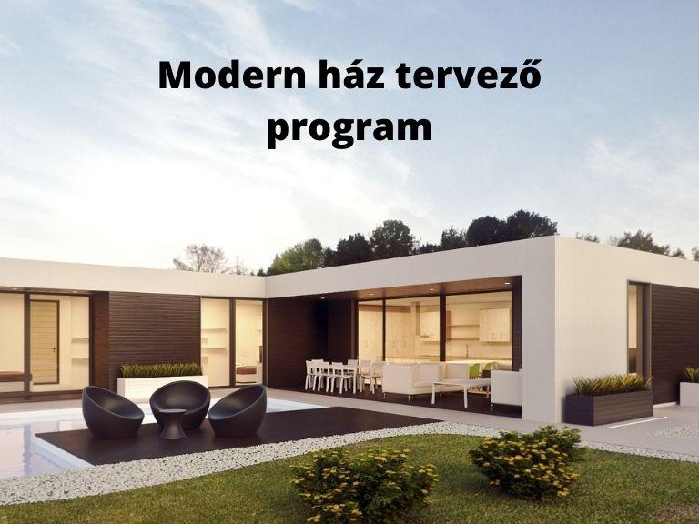 modern ház tervező