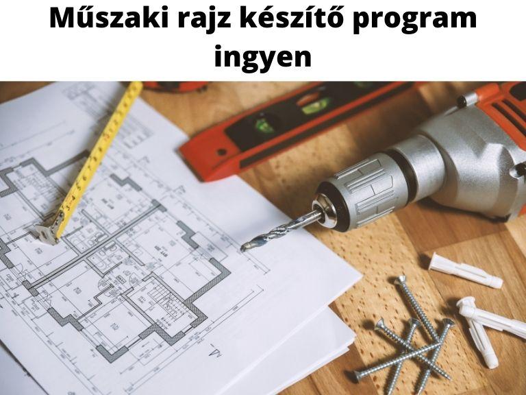 műszaki rajz készítő program ingyen