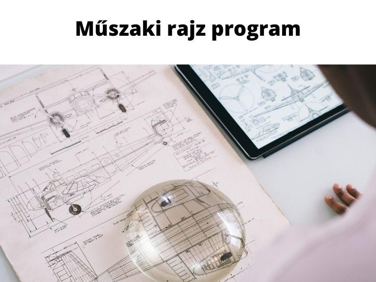 műszaki rajz program