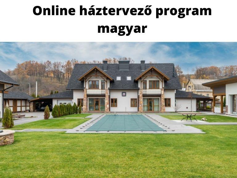 online háztervező program magyar