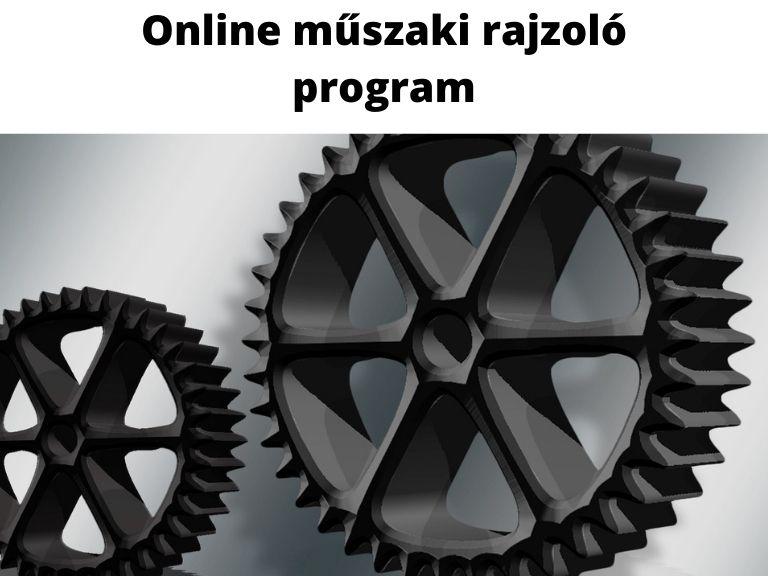 online műszaki rajzoló program