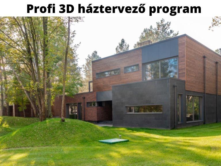 profi 3d háztervező program